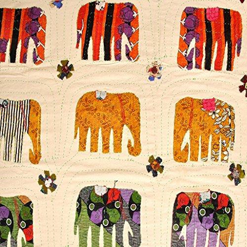Buy Bargain Eminent Craft - Bed Spread - Amarosi - Handmade - Cotton - 104' X 90'