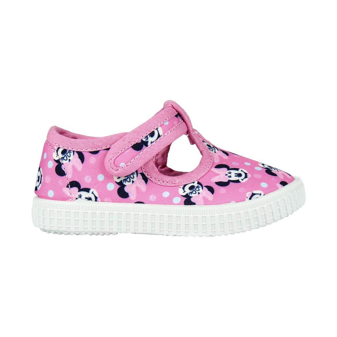 Cerdá Zapatilla Loneta Baja Minnie Sneaker a Collo Alto Bambina ...