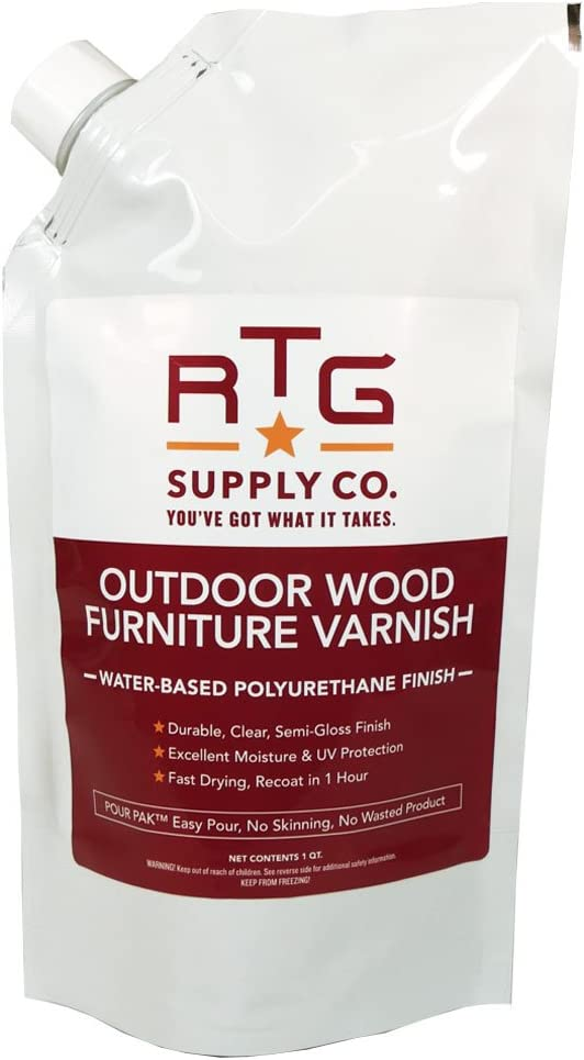 RTG Outdoor Wood Furniture Varnish (Quart)