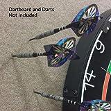 Dart-Stop 29 inch Black Octagon Pro Dart Board