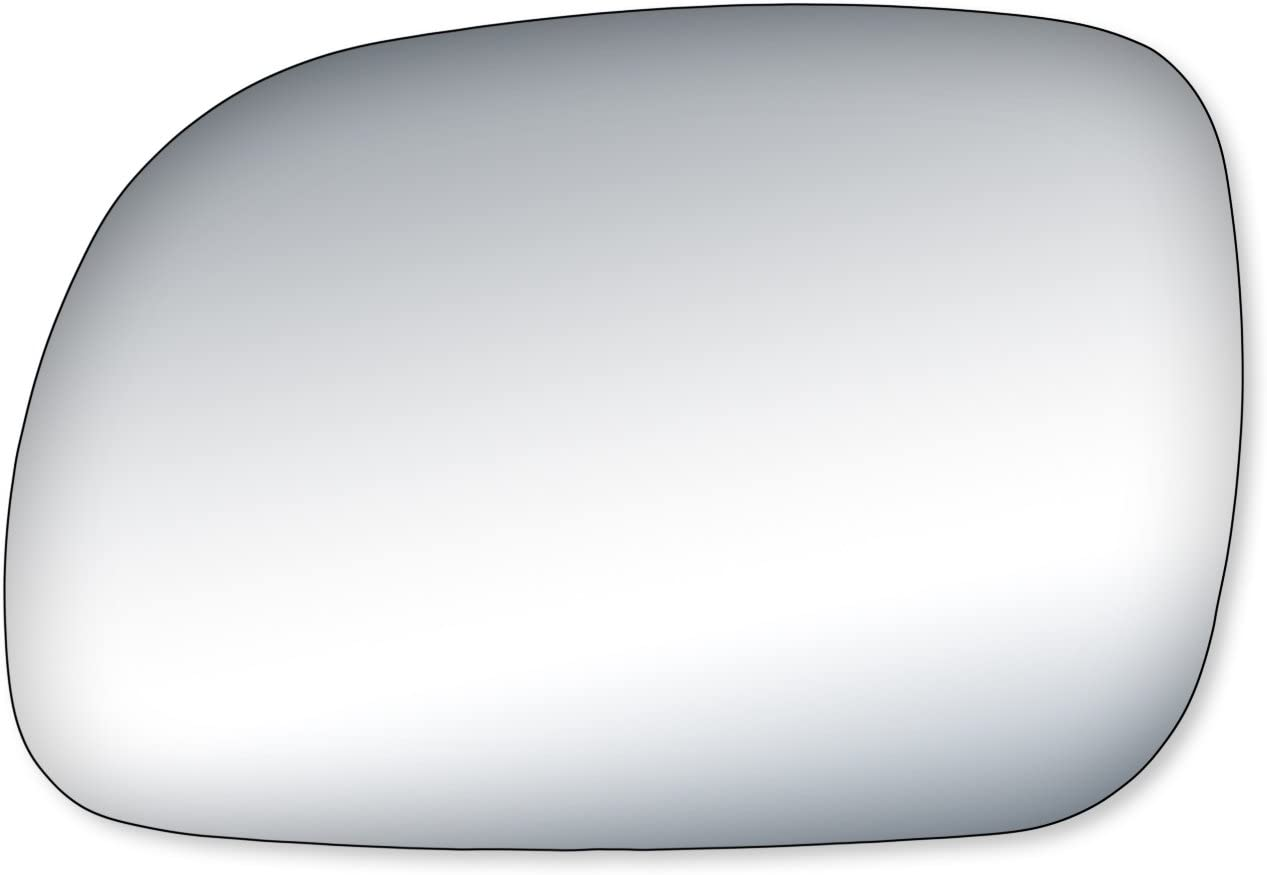 Driver Side Heated Replacement glass w Backing for Chrysler Town /& Country Dodge