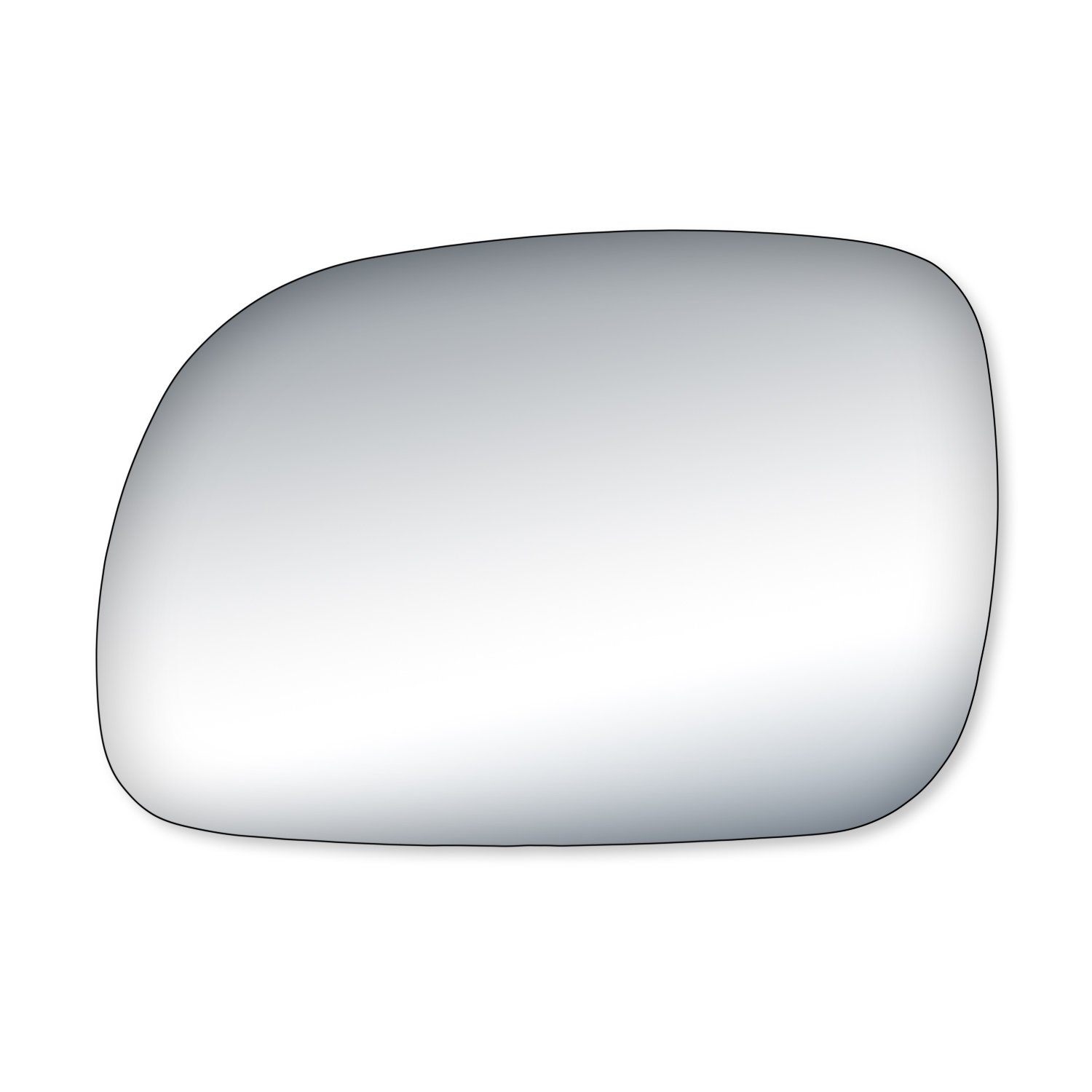 Fit System 90013 Chrysler//Dodge//Plymouth Passenger Side Replacement Mirror Glass
