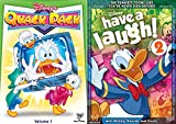 Donald Mickey & Friends Disney Characters Collection - Quack Pack: Volume 1 + Have A Laugh Cartoon DVD Kids Bundle