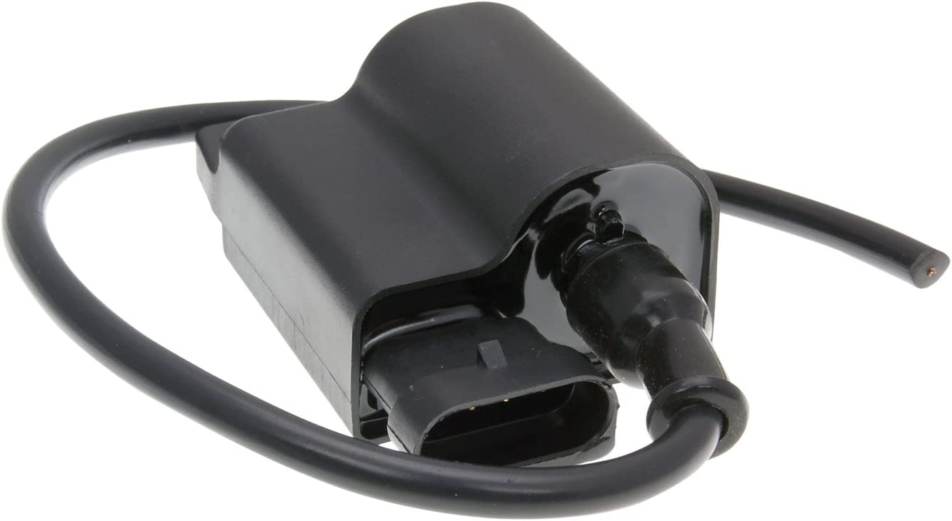 Bike Equipment 25764 Ignition Coil//CDI Unit with Cable and Spark Plug Gap