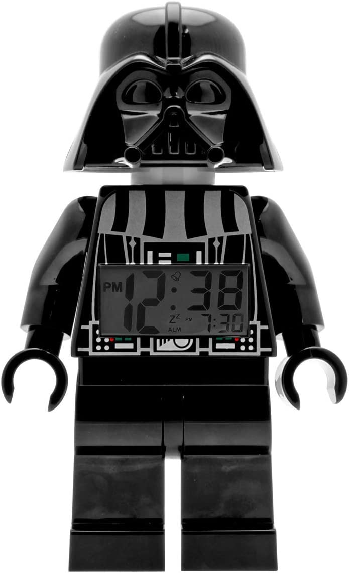 A picture of the darth vader clock