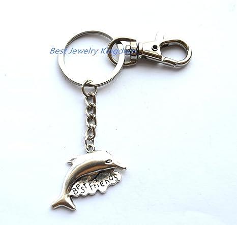 Amazon.com: Delfín llavero, plata delfín, de hombre, regalo ...