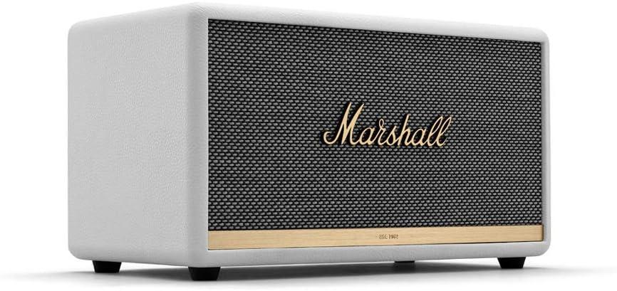 Marshall Stanmore II Altavoz Bluetooth ,EU, Blanco: Amazon.es ...