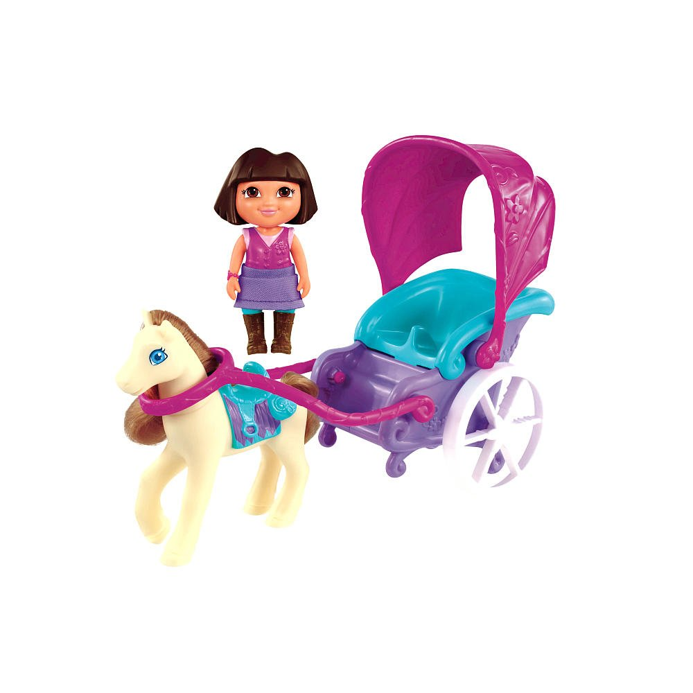 Fisher-Price Dora the Explorer Magical Carriage Ride Playset by by by Fisher-Price (English Manual) 75369a