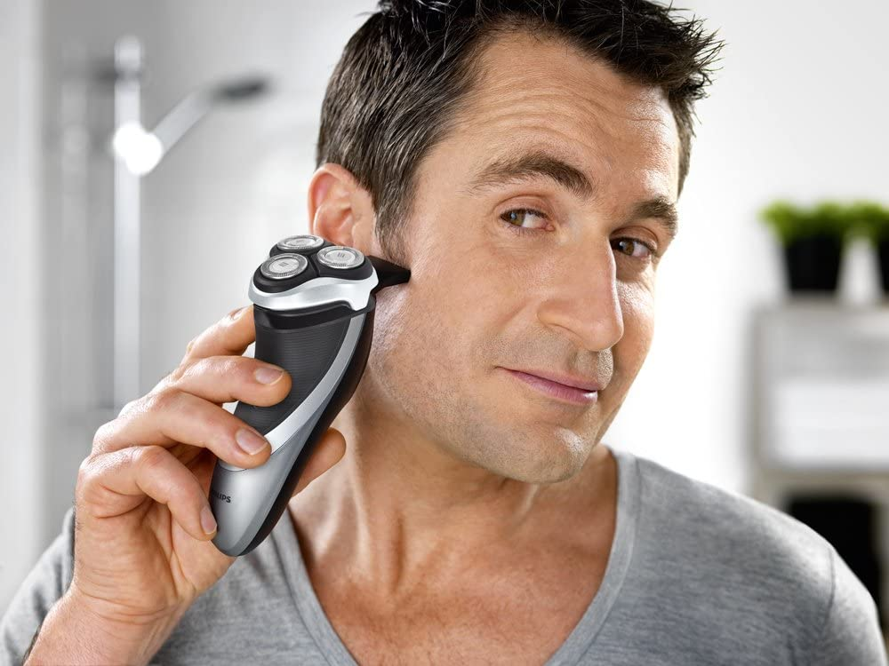 Philips PT860/16 Power Touch - Afeitadora eléctrica con cabezales flexibles