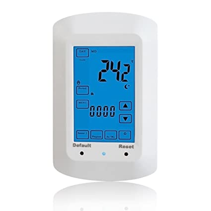 beok tsp730-ep programable controlador de temperatura digital Termostato eléctrico calefacción por suelo radiante con
