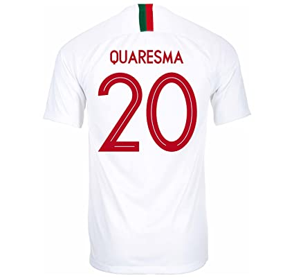 Nike QUARESMA  20 Portugal Away Soccer Jersey Russia World Cup 2018 (S) 928eb1bf4
