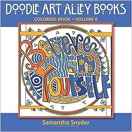 Amazon.com: Believe in Yourself: Coloring Book (Doodle Art Alley ...