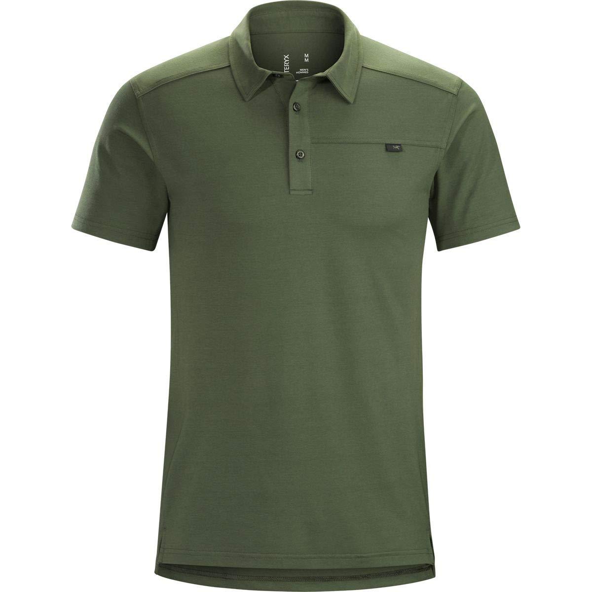 Amazon Arcteryx Captive Polo Shirt Short Sleeve Mens Clothing