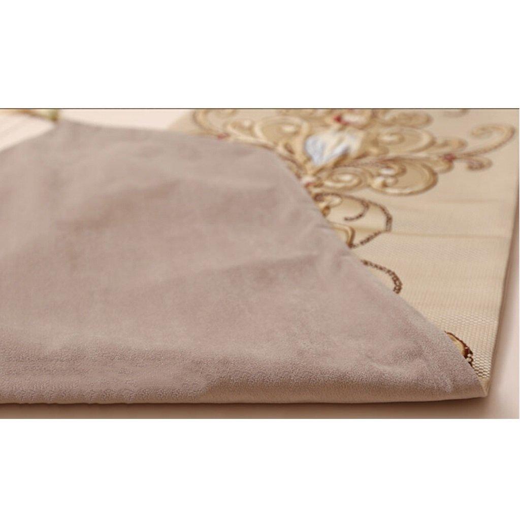 Jacquard Tischdecke Plüsch Plüsch Plüsch Tischfahne weich Kaffeedecke Tuch Handtuch Streifen Muster Wildleder elegant Ausgezeichnet ( Farbe   D , Größe   32240cm ) 496e98