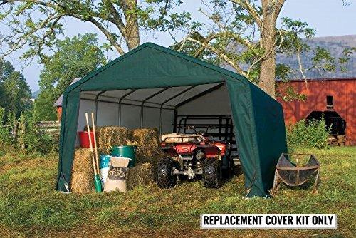Tractor Supply Shelterlogic : Shelterlogic replacement cover kit peak green