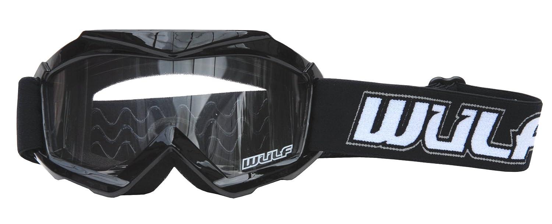 Blue S Wulf Cub Abstract Goggles Wulfsport Kids Flite Motocross Motorbike Helmet off Road 47-48cm