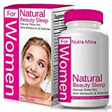 FLASH SALE – Natural Beauty Sleep For WOMEN Is A Unique Blend Of Melatonin, Valerian, Ashwagandha And Natural Sleep Aids That Promotes Relaxation And Restful Sleep, Made In USA – 60 Veggie Capsules Review