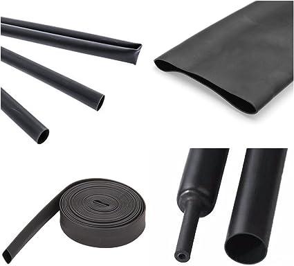 Variano da 10 diametri e 6 lunghezze qui: /Ø1mm - Lunghezza: 2m ISO-PROFI/® Tubi Termorestringenti Nero 2:1