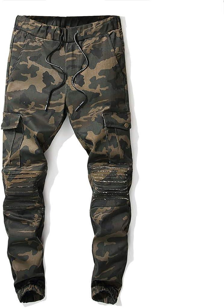 LILICAT Hommes Durables Poches Multi,Pantalons Camo Cargo Solides,Homme Combat Pantalons Treillis Militaire Cargo Armee Pantalon de Travail Multi Poches Coton,Pantalon Camouflage De Loisirs De Travail