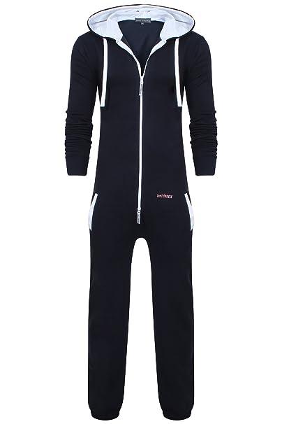 Oska Onesie - Pijama de una pieza - para hombre Azul Plain Navy X-Large