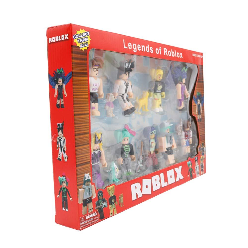 Roblox Estatuilla de juguete Modelo de juguete personalizable Bloque de construcci/ón mu/ñeca 9 modelos de juguete hechos a mano Modelo de juguete de moda Color : A01 , Size : 35.5 X 24 X 4.4cm