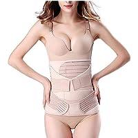 3 in 1 Postpartum Support Recovery Belly Wrap Waist/Pelvis Belt Body Shaper Postnatal Shapewear-C-Section