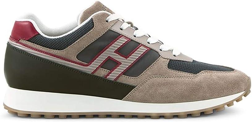 Zapatillas Hogan de Hombre HXM4290BD80KW1672S h429 Running Zapatillas Deportivas de Piel Beige Shoes Calzado Casual Nuevas cómodas: MainApps: Amazon.es: Zapatos y complementos