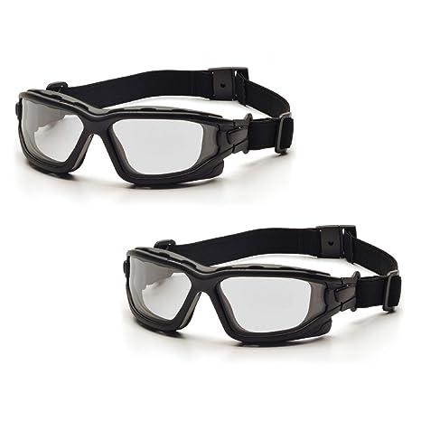 Pyramex I-Force deportivo Panel de doble lente anti niebla gafas