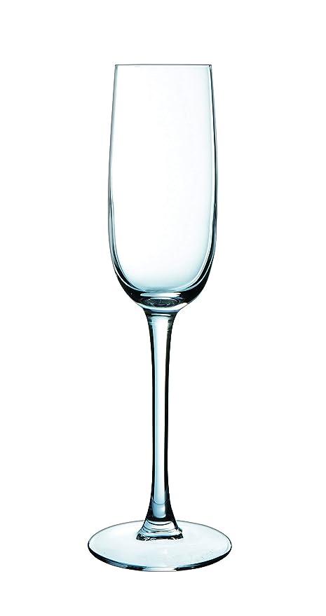 Luminarc Versailles - Set de 6 Copas de champán, 16 cl
