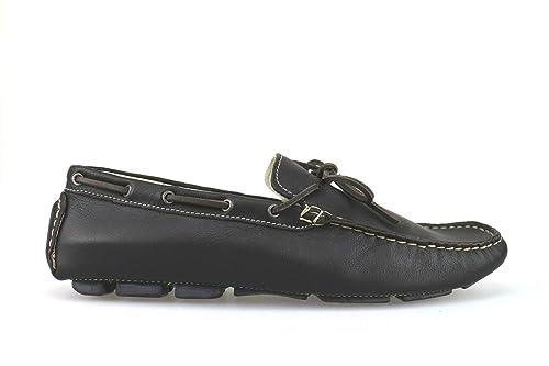 ROSSINI Mocasines Hombre Cuero marrón 42 EU: Amazon.es: Zapatos y complementos