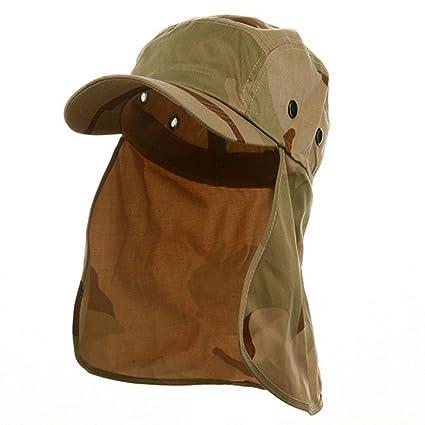 fee357e2a New Desert Camo Cap Sun Protection Foreign Legion Flap Hat