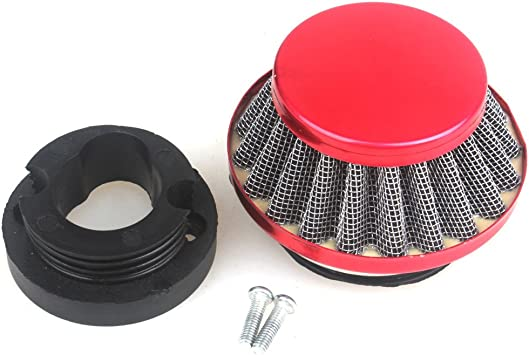 Pocket Bike 42mm Air Filter Cleaner for 47cc 49cc Mini Dirt Go Kart ATV Quad