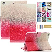 iPad Mini Case, Dteck(TM) Slim Fit Cute PU Leather Flip Stand Wallet Case with Auto Sleep/Wake Function Smart Cover for Apple iPad Mini 1 2 3 (01 Gradient Ramp Color)