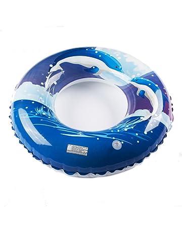 Gububi Asiento Inflable del Flotador de la Piscina del Anillo de la natación del PVC para