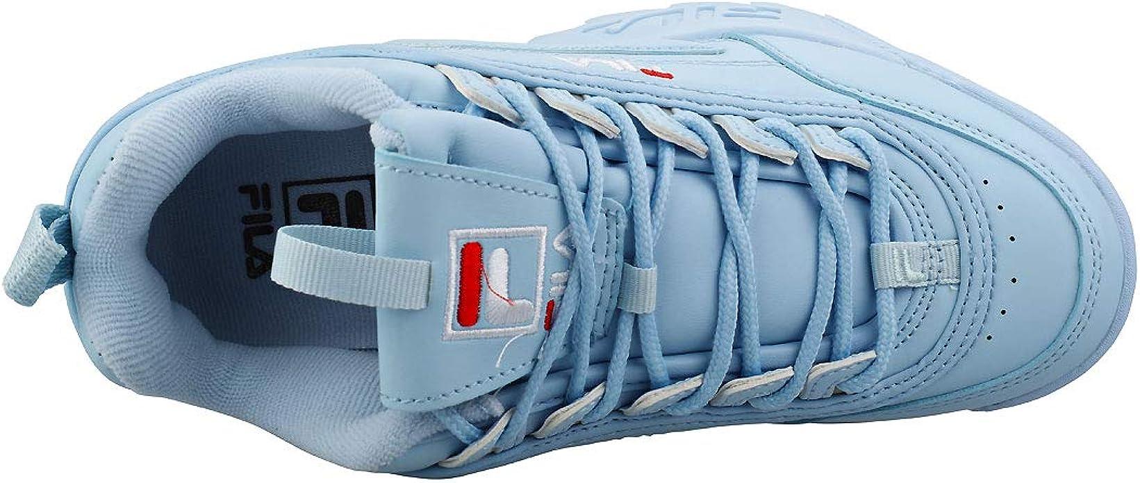 Fila Leather Disruptor Ii Premium Womens Angel Falls Blue