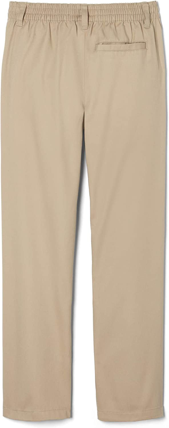 French Toast Boys Relaxed Fit Pull-on Twill Pant School Uniform Pants