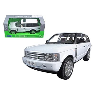 Welly 22415 2003 Land Rover Range Rover White 1/24 Diecast Model Car: Everything Else