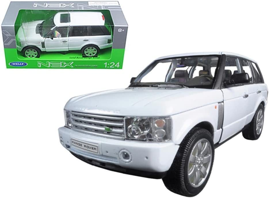 Welly 22415 2003 Land Rover Range Rover White 1/24 Diecast Model Car