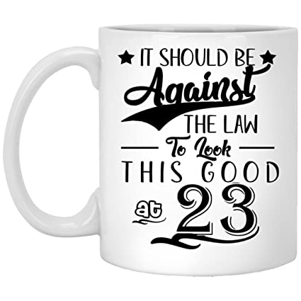 23th Birthday Gifts For Women Eighty Years Old Men Gift Happy Funny 23 Mens Womens Womans