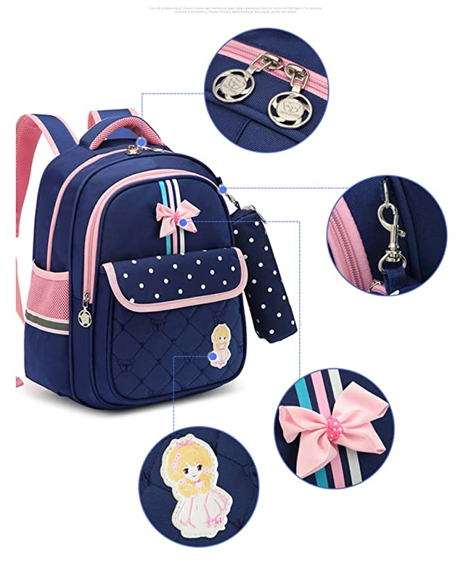 Amazon.com: LAIDAYE Quality Childrens Boy Girl Bag Backpack, Waterproof Lightweight 6-9 Years Old Large Capacity 1-3 Grade Primary School Students School ...