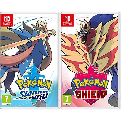 Pokemon Sword + Pokemon Shield - 2 Game Bundle - Nintendo Switch