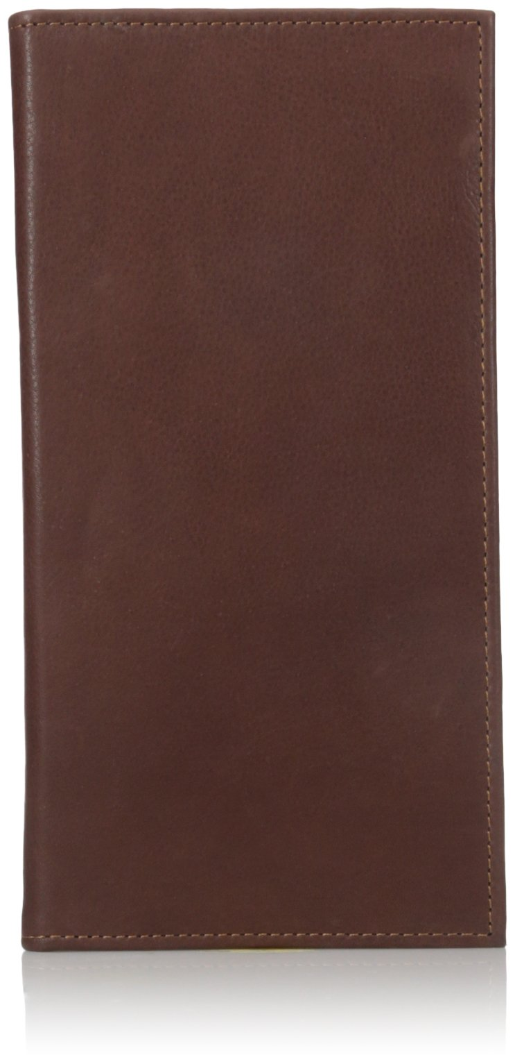 Dopp Men's Milan Passport Travel Wallet, Brown, One Size
