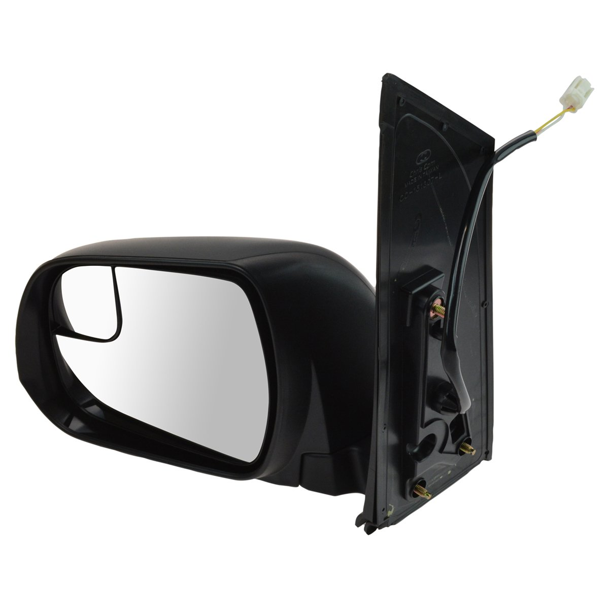 Power Blind Spot Textured Mirror LH Left Driver Side for Toyota Sienna