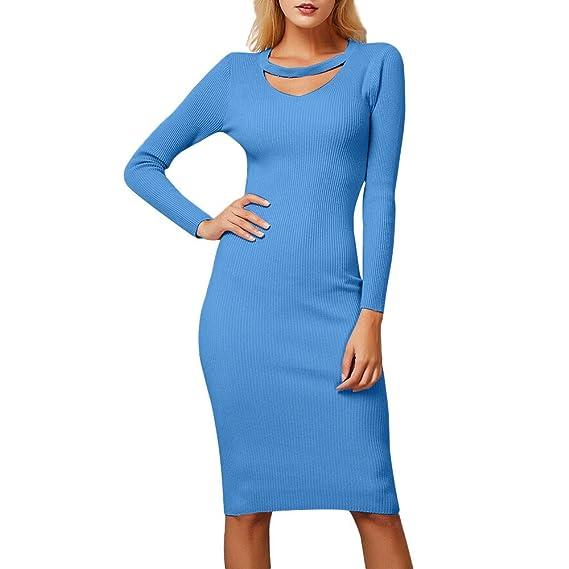 Beladla Vestido De Mujer Color SóLido Slim Fit Mujeres Vestidos Terciopelo Largo Elegante V-Cuello