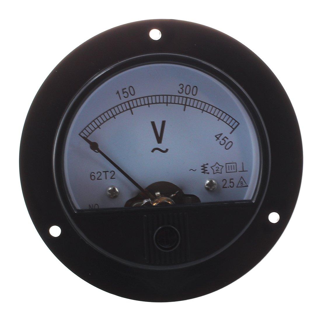 SODIAL(R) Autour ACH 0-450V Tension Volt analogique Indicateurs de Tableau Voltmetre