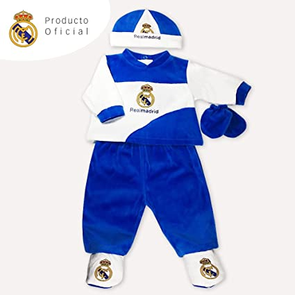 Pijama Real Madrid para Bebé: Amazon.es: Bebé