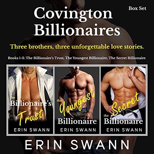 Covington Billionaires: Romance Series (3-Book Box Set): Books 1-3 (Covington Billionaires Box Sets 1)