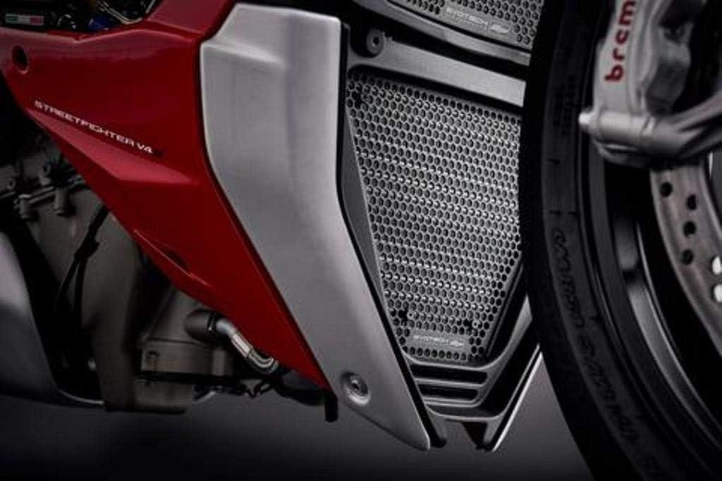 V4S Year 2020. Evotech Performance Radiator Guard Kit for Ducati Streetfighter V4