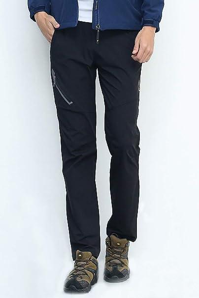 XYZLEO Pantaloni Trekking Leggero Magro Pantaloni da Passeggio Donne Impermeabile Traspirante Asciugatura Veloce Resistente Ai Graffi Pantaloni da Trekking