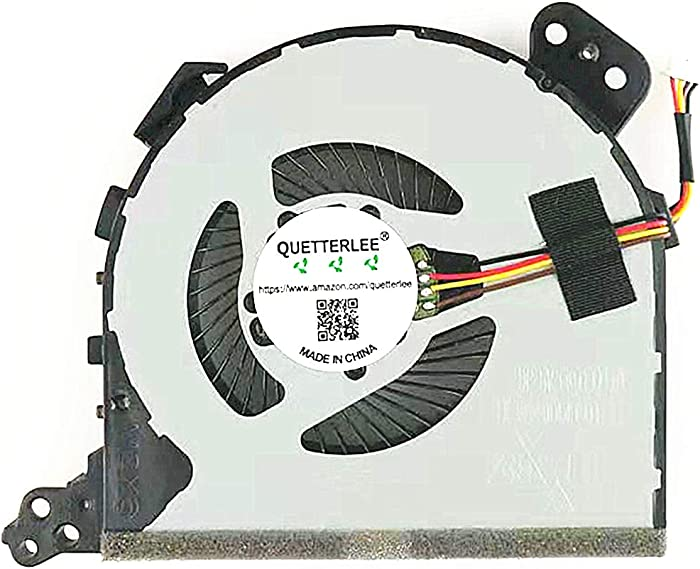 QUETTERLEE Replacement New CPU Cooling Fan for Lenovo Ideapad 320-15isk 320-15ikb 320-15ast 320-14IKB 320-14ABR 320-14ISK 320-15ABR 320-15IAP 320-17IKB 320-17ISK Series DFS541105FC0T FJD5 Fan